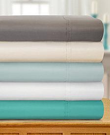 Superior 1800 Thread Count Cotton Rich Solid Sheet Set - Queen - White