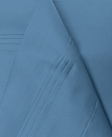 Superior 650 Thread Count Egyptian Cotton Stripe Sheet Set - California King - White