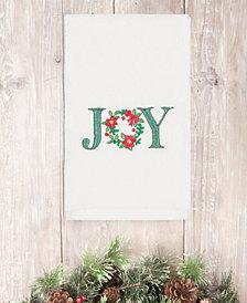 CLOSEOUT! Linum Home Christmas Joy 100% Turkish Cotton Hand Towels