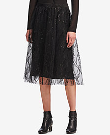 DKNY Sequined Tulle Skirt, Created for Macy's
