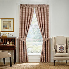 "Croscill Lauryn 84"" X 84"" Curtain Window Panel Pair"