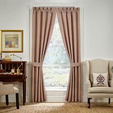 "Croscill Lauryn 95"" X 95"" Curtain Window Panel Pair"