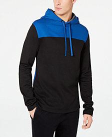 DKNY Men's Colorblocked Twill Hoodie