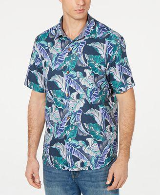 Tommy Bahama Men's Let's Be Fronds Hawaiian Shirt