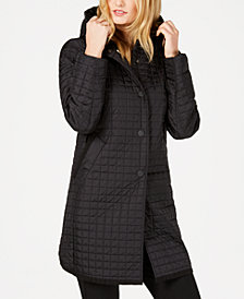 Weekend Max Mara Oceano Quilted Hooded Jacket