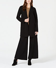Eileen Fisher Long Jacket, Pant & Top
