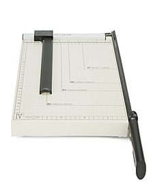 Adjustable Metal Paper Trimmer, Capacity 10 Pages, Black