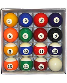 Pool Table Regulation Billiard Ball Set
