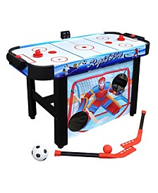 "42"" Rapid Fire 3-in-1 Air Hockey Game Table"
