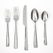 Cali Mirror 30-Piece Flatware Set, Service for 6