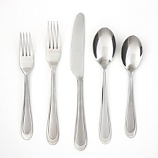Clarity Sand 30-Piece Flatware Set, Service for 8