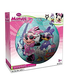 Hedstrom - 8.5 Inch Minnie Mouse Rubber Playground Ball