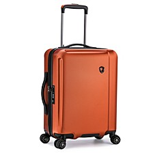 """Halow 21"""" Polycarbonate Spinner Suitcase"""