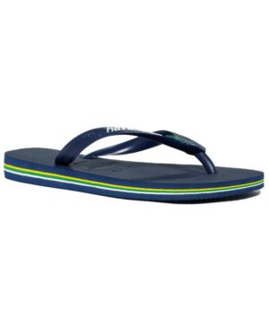 Havaianas Men's Brazil Logo Flip Flop Sandals Men's Shoes 4421787