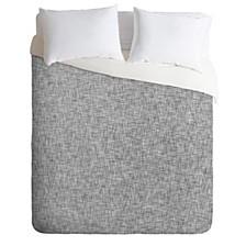 Holli Zollinger Linen Grey Light King Duvet Set