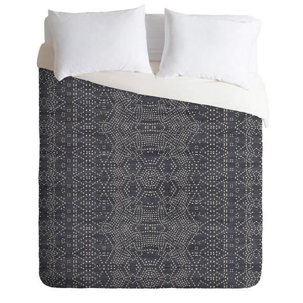 Deny Designs Holli Zollinger Marrakeshi Denim Queen Duvet Set