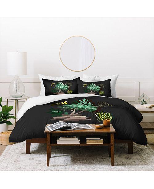 Deny Designs Holli Zollinger Desert Botanical Sagebrush Twin Duvet Set