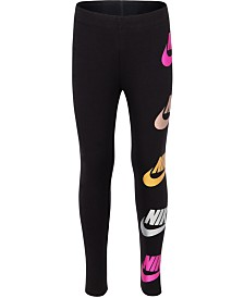Nike Toddler Girls Futura-Print Shine Leggings