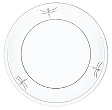 "La Rochere Dragonfly 7.5"" Diameter Salad Plate, Set of 6"