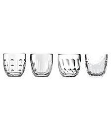 La Rochere Assorted, 3.2 oz Espresso Cups, Set of 4