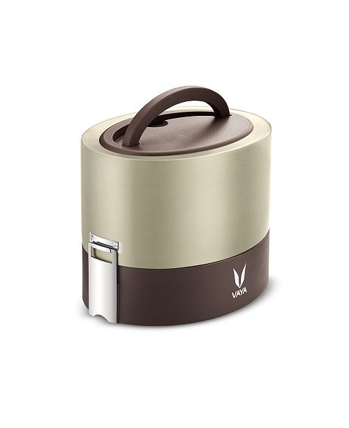 VAYA LLC Vaya Tyffyn 600 Graphite Lunch Box without Bagmat - 20 oz