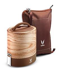 Vaya Tyffyn 1000 Maple Lunch Box with Bagmat - 33.5 oz