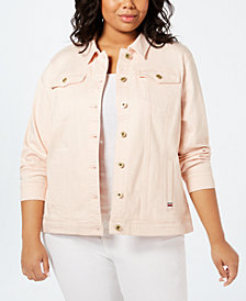 Tommy Hilfiger Plus Size Denim Jacket