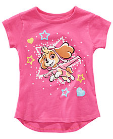 Nickelodeon Paw Patrol Little Girls Star T-Shirt