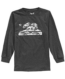 Univibe Big Boys Cali Camo Bear Graphic T-Shirt