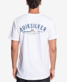Quiksilver Men's Simple Color Logo Graphic T-Shirt