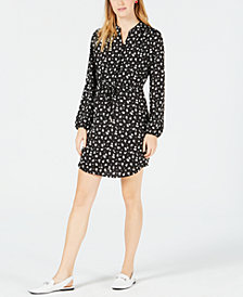 Maison Jules Printed Shirtdress, Created for Macy's