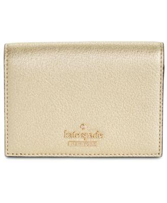 kate spade new york blake street dot annabella pebble leather wallet rh macys com