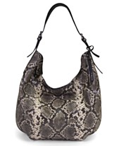 T Tahari Jackie Leather Oversized Hobo ed2dfcc63a878