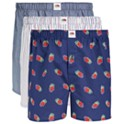 3-Pack Fruit of The Loom Men's Limited Edition Woven Cotton Boxers
