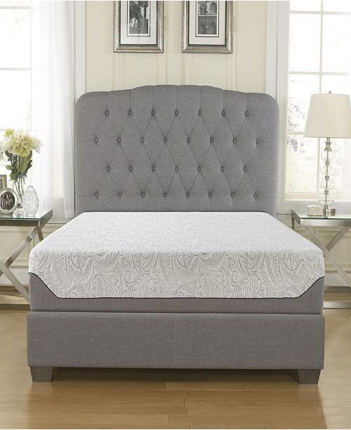 "Ultima 10"" Medium Firm Cooling Air Flow Memory Foam Mattress, Full"