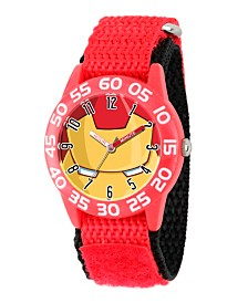Marvel's Avengers: Iron Man Boys' Red Plastic Time Teacher Watch