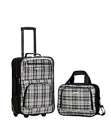 Rockland 2-Piece Luggage Set