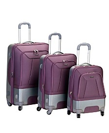 Rockland Rome 3PCE Hardside Luggage Set
