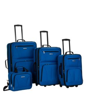 Rockland 4-Pc. Softside Luggage Set