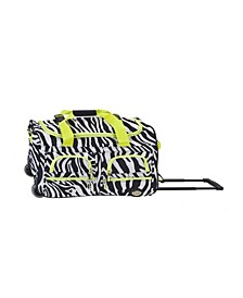 """22"""" Carry-On Rolling Duffel Bag"""