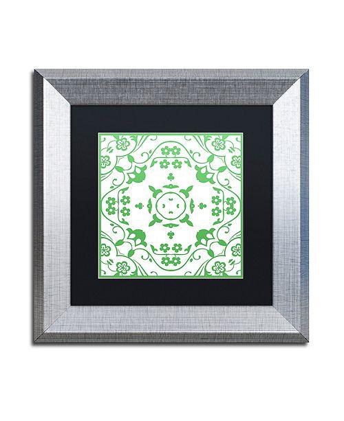 """Trademark Global Color Bakery 'Prima Donna I' Matted Framed Art, 11"""" x 11"""""""
