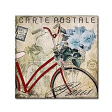 Color Bakery 'Postale Paris Ii' Canvas Art