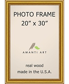 "Amanti Art Townhouse Gold 20"" X 30"" Opening Wall Picture Photo Frame"