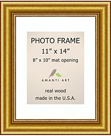"""Townhouse Gold 11"""" X 14"""" Matted to 8"""" X 10"""" Opening Wall Picture Photo Frame"""