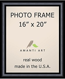 """Steinway Black 16"""" X 20"""" Opening Wall Picture Photo Frame"""