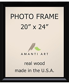 "Amanti Art Steinway Black 20"" X 24"" Opening Wall Picture Photo Frame"