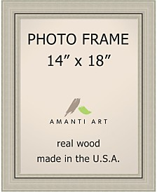 "Amanti Art Romano Silver 14"" X 18"" Opening Wall Picture Photo Frame"