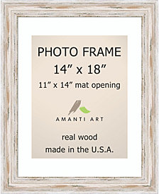 Amanti Art Townhouse Gold 14X18 Matted To 11X14 Opening Wall Picture Photo Frame
