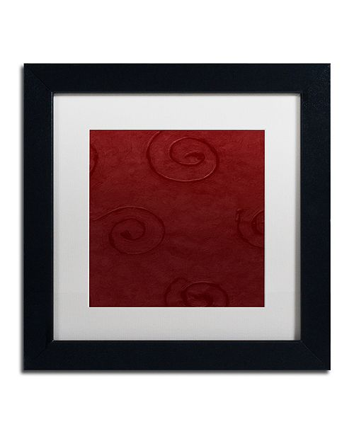 "Trademark Global Color Bakery 'Sweet Holiday Iv' Matted Framed Art, 11"" x 11"""