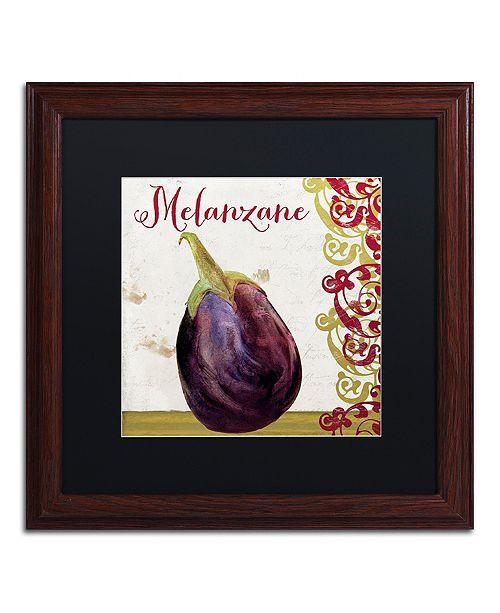 "Trademark Global Color Bakery 'Cucina Italiana V' Matted Framed Art, 16"" x 16"""